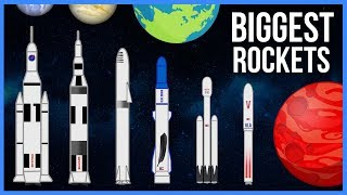 How the Biggest Rockets in the World Measure Up