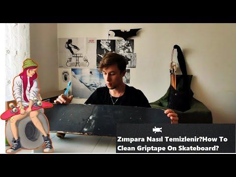 Kaykayda Zımpara Nasıl Temizlenir?How To Clean Griptape On Skateboard