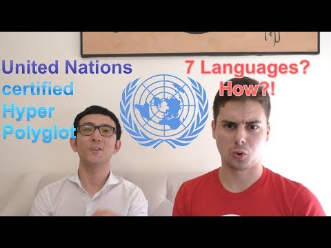 How a United Nations Certified Hyperpolyglot Learned 7 Languages to Fluency