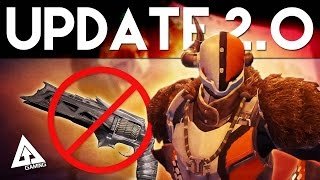 Destiny Update 2.0 Guide - Free Exotic Weapon, Crucible Preview and More!
