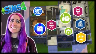 Every Room is a Different Pack Challenge // Sims 4 Random Build