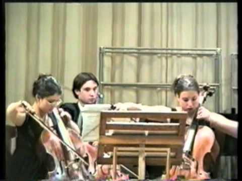 """""""Toccata, Chorale and Fugue""""- Cello Ensemble by An-lun Huang, Op.39 [1986]"""