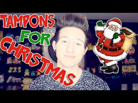 TAMPONS FOR CHRISTMAS | RICKY DILLON