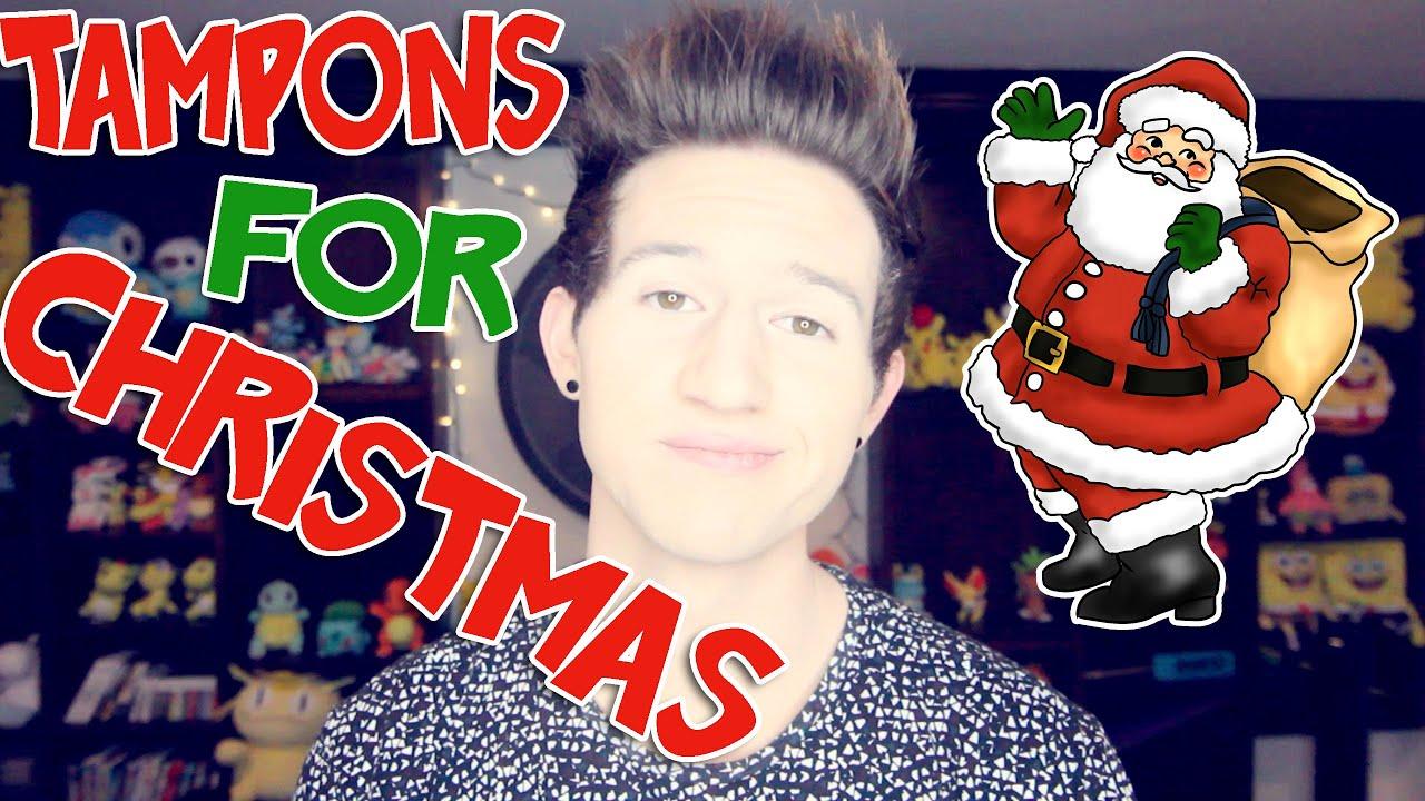 Tampons For Christmas Ricky Dillon Youtube