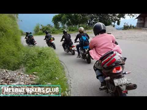 Meerut bikers club/ kanatal ride uttrakhand