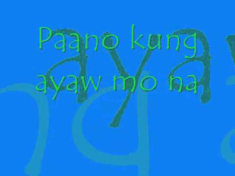 Kung Paano with Lyrics by Kris Lawrence