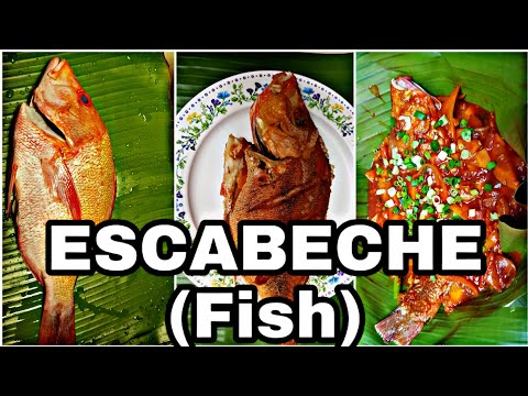 Escabeche Recipe | Sweet And Sour Fish | Fish With Tomato Sauce