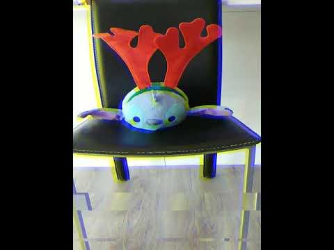 GLITCHO - Glitching  Toy In Chair   Animation 1