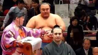 平成26年10月4日(土)、琴欧洲引退断髪披露大相撲に行ってきました! 力...