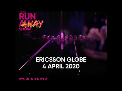 Danny Saucedo intar Ericsson Globe i Stockholm