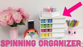 DIY Spinning ORGANIZER\ROTATING ORGANIZER