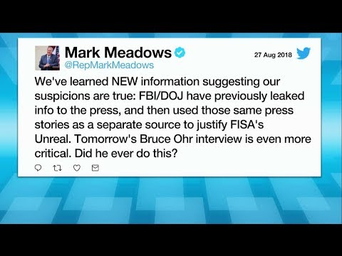 Rep. Meadows: There's 'Hard Evidence' FBI Officials Leaked Info To Press To Justify FISA Warrants