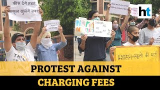 Parents protest against Chandigarh schools for charging fees during lockdown