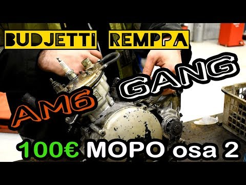 100€ MOPO OSA 2 - AM6 UUSI MÄNTÄ