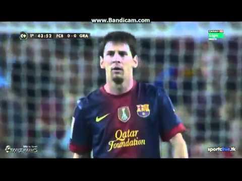 Messi gets angry to David Villa HD