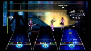 ROCK BAND 3 CUSTOM SONGS! - Brianstorm Audition Mode FULL BAND Autoplay