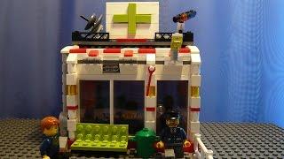 LEGO САМОДЕЛКА #19 | Аптека / Chemist`s shop(Как построить аптеку из лего? Если вы восхитительный строитель и проектируете свой лего-город, то вы попали..., 2015-07-16T06:18:10.000Z)