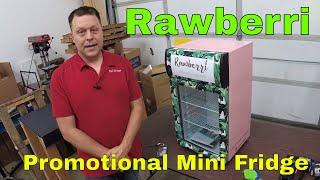 Rawberri Promotional Mini Fridge Rm wraps 2018