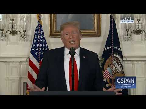 President Trump on Border Security & Government Shutdown (C-SPAN)
