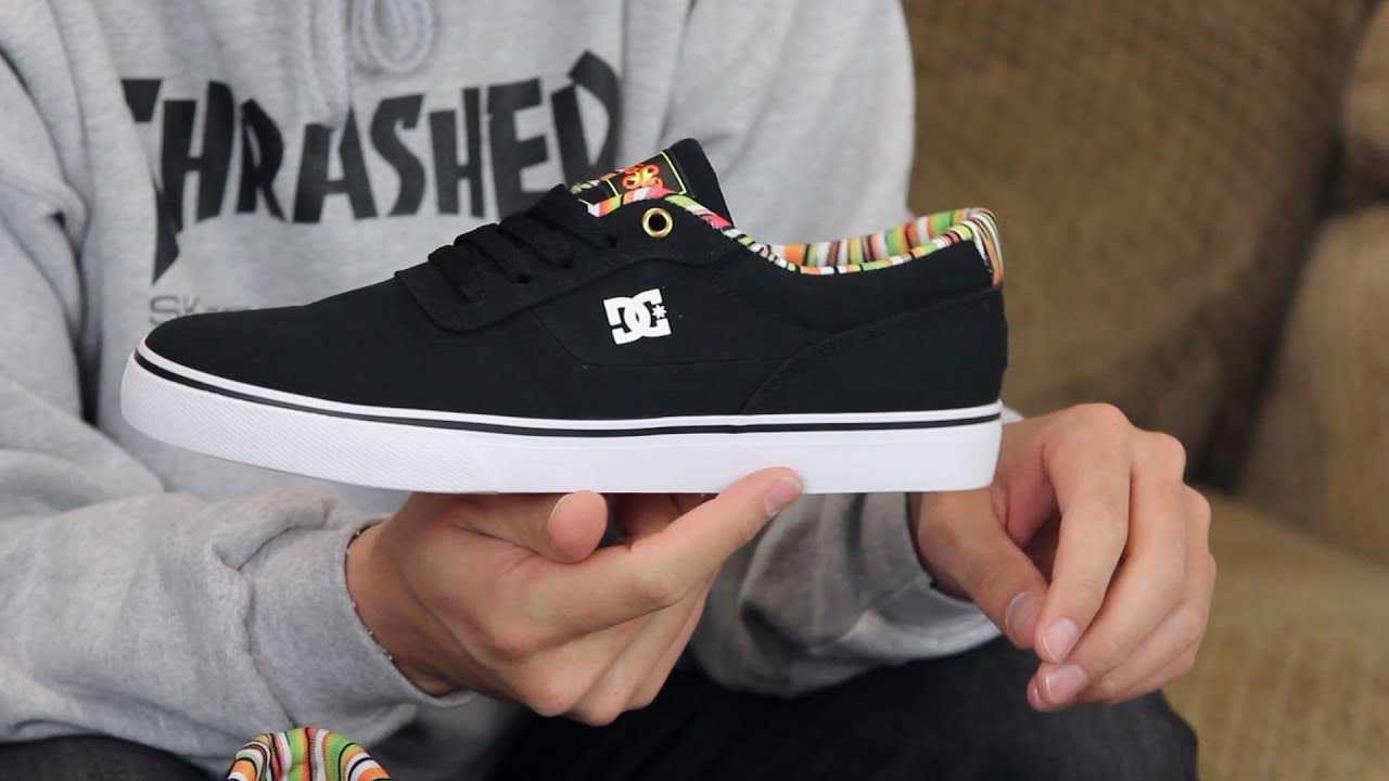 DC Mouse Switch S TX Mouse Skate Shoes Review - Tactics.com - YouTube 5e8ff6e0a