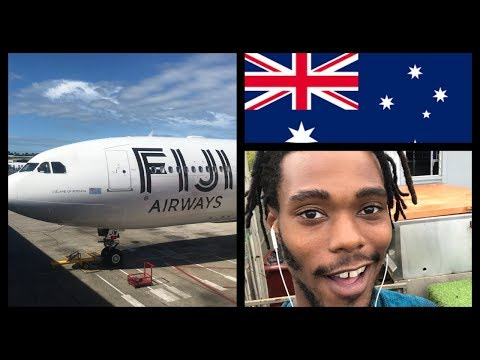 Fiji Airways To Australia Flight Review