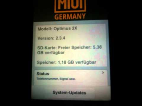 Miui Celebration HD Iphone 2.0.1 für LG Optimus Speed