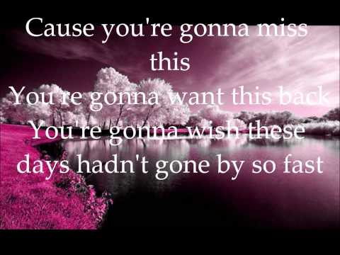 You're Gonna Miss This - Trace Adkins...