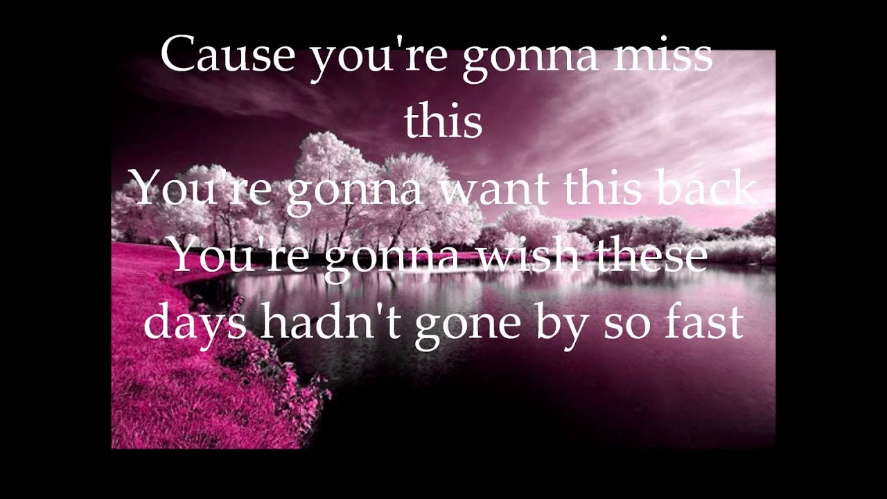 Trace Adkins - You're gonna miss this *** with lyrics ...