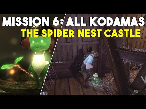 Nioh All Kodama Locations Mission 6: The Spider Nest Castle