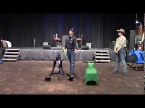 The Time Machine Roping Dummy With Walt Woodard Nrs A