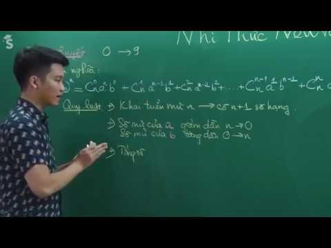 Nhị Thức Newton Ver 2018 (Phần 1) _ Thầy Nguyễn Quốc Chí
