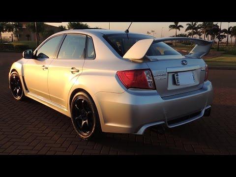Subaru WRX com rodas ADVAN RACING - Carro dos Inscritos Ep. 09