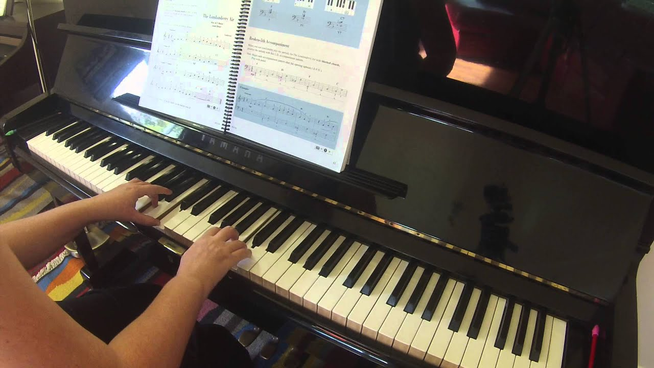 2 adult adventure book in lesson one piano