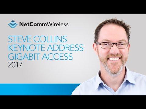 Steve Collins Keynote - Brussels Gigabit Access Forum