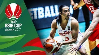 Philippines v Jordan - Highlights - Classification 7-8 - FIBA Asia Cup 2017