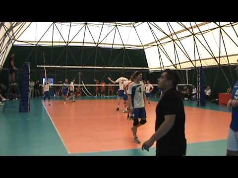 Volleyball Male Semi Final: Innsbruck Vs VSE Prague - EuroRoma 2012