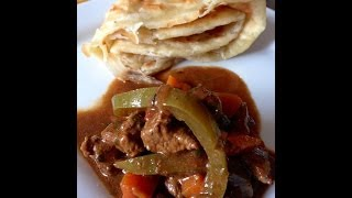 Mchuzi Wa Nyama (curried Beef Stew With Peppers And Vegetables)