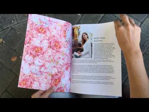 Kate Tova. Artist's portfolio magazine by Blurb
