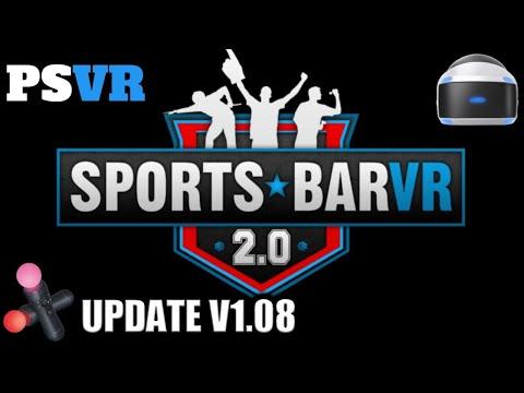 Sports Bar VR 2.0 (PSVR) Live! Update v.1.08