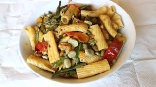 Simple and easy way to make fried pasta