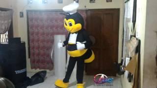 Kostum maskot - Badut Lebah Lucu ngegemesin