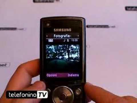 Da telefoninonet la videoprova del nuovo Samsung sgh g600