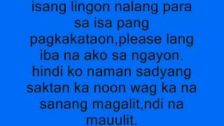 Repeat youtube video Sayong Pagbabalik by curse one