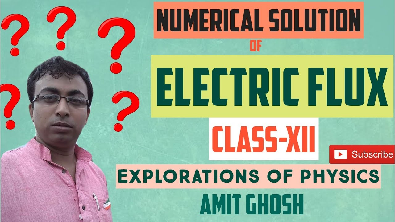 Electric flux numerical class 12