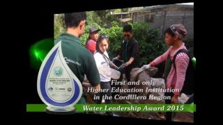 Nestlè Water Leadership Award 2015 - National Champion (Tertiary Level)
