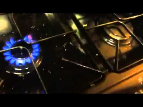 Magnesium Strips On Fire