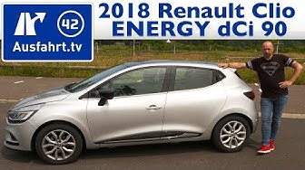 2018 Renault Clio ENERGY dCi 90 Intense - Kaufberatung, Test, Review