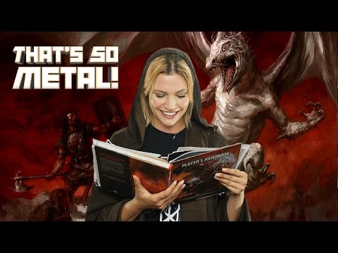 How to Make a Metal D&D Character! - THAT'S SO METAL! Episode 8