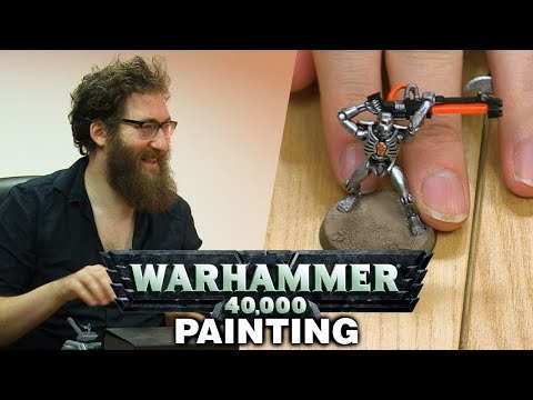 Warhammer 40,000 - Model Painting W/ Lewis, Sjin, Tom And Ben!