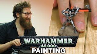 Warhammer 40,000 - Model Painting w/ Lewis, Sjin, Tom and Ben!